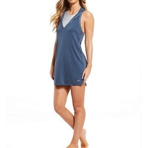 Nike Solid Cover-Up Hooded Dress